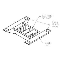 B&W Compaion OEM Prep Kit - Foot Pad Kit for Ford