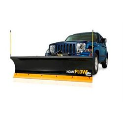 Hydraulic Home Snow Plow - Power Angle - 6.8ft Length