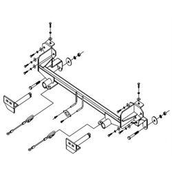 Baseplate - Honda CRV (No Brushguard)