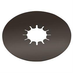 "Titan 16K Fifth Wheel 12"" Thin Round Lube Plate, 1/8"" Thick"