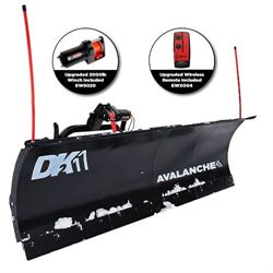 DK2 Avalanche - 84 x 22 Universal T-Frame Snow Plow