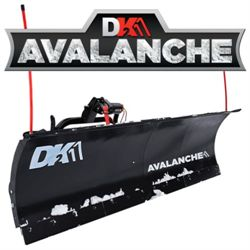 DK2 Avalanche - 82 x 19 Universal T-Frame Snow Plow