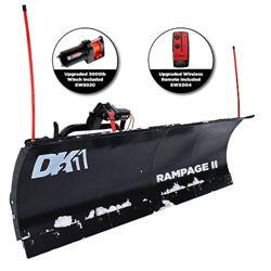 DK2 Rampage II - 82 x 19 Custom Mount Snow Plow