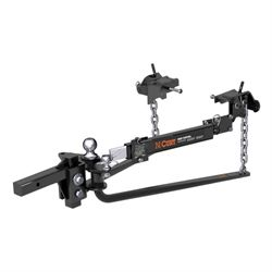 Weight Distribution System - Round Bar Style w/ Sway Control; 1,400/14,000 lbs.