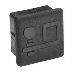 """Hitch Cover, 2"""" Receiver size; EMBOSSED: Draw-Tite"""