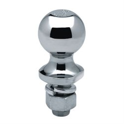 "Trailer Ball, Chromed; 1-7/8"" x SHANK DIAM: 3/4"" x LENGTH: 1-1/2""; CAP: 2K"