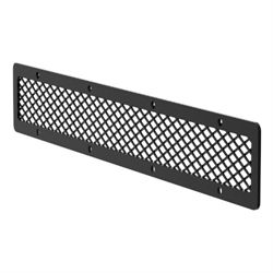 Carbon Steel Pro Series Grille Guard Cover Plate - Semi-Gloss Black - PJ20MB