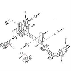 Ford Parts Ford Explorer Hitch 2012