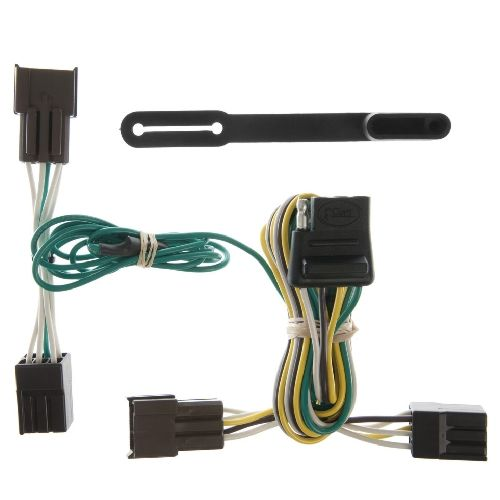 ford taurus trailer wiring harness t-connector ford taurus sedan - curt 55327 2012 ford escape trailer wiring harness
