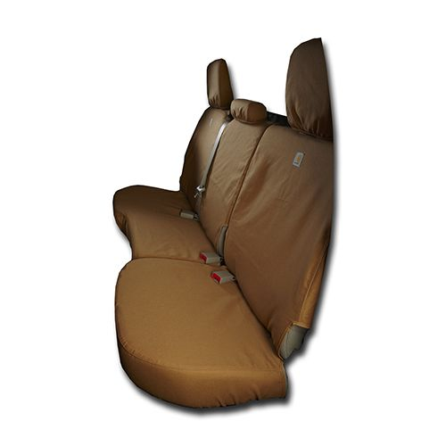 Seat Cover 2nd Row Brown GMC With 60 40 Seat