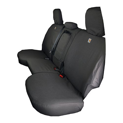 Car Bench Seat Covers >> Seat Cover 2nd Row Grey Ram with 60/40 Seat - Carhartt ...