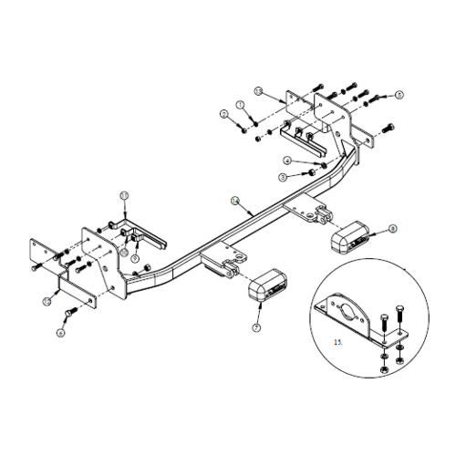 ford focus baseplate