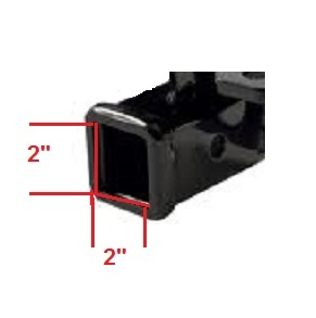 Trailer Hitch Receiver Size