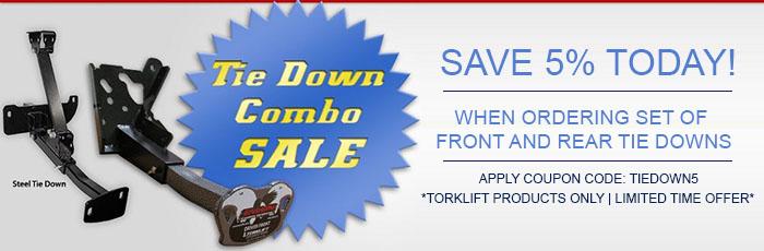 Torklift Tie Down Promo