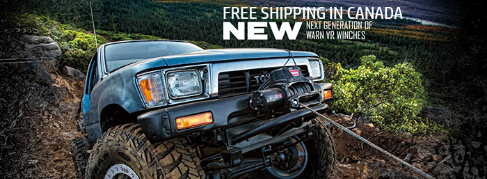 NEW WARN Winches for Sale