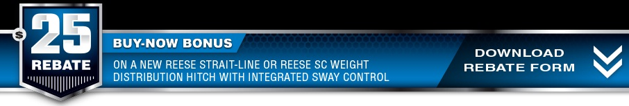 Reese Weight Distribution Rebate