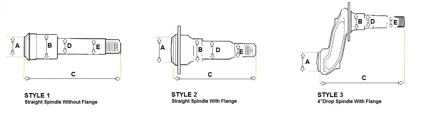 Trailer Spindle