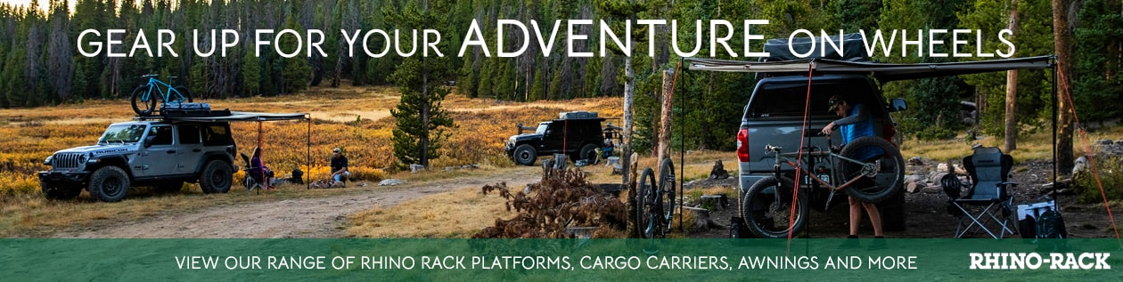 Summer Roof Racks Camping Gear Rhino Rack