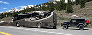 RV Vehicle Towing