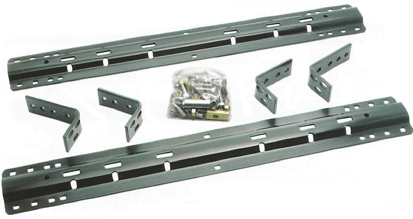 Universal Fifth Wheel Rails Install Kit