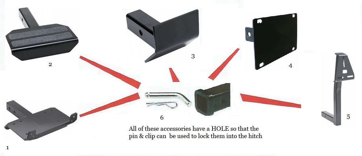 Front Receiver Accessories