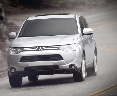 2014 Mitsubishi Outlander Trailer Hitch