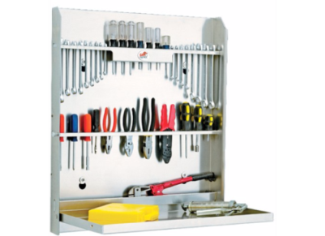 Tool Storage in Enclosed Trailer by Tow-Rax